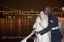Wedding photographer over looking the Brooklyn Bridge in NYC.Wedding photographer in Freehold NJ. Party photography in New Jersey. Event photographer in NJ